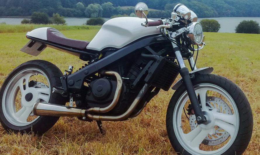 La Honda 650 NTV de Gwenaël 🔐