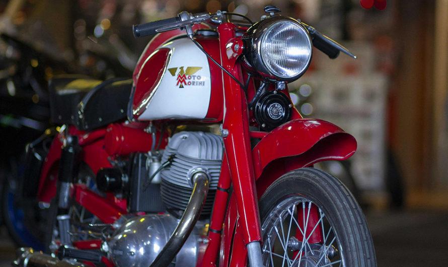 Une Moto Morini Briscola en état collection 🔐