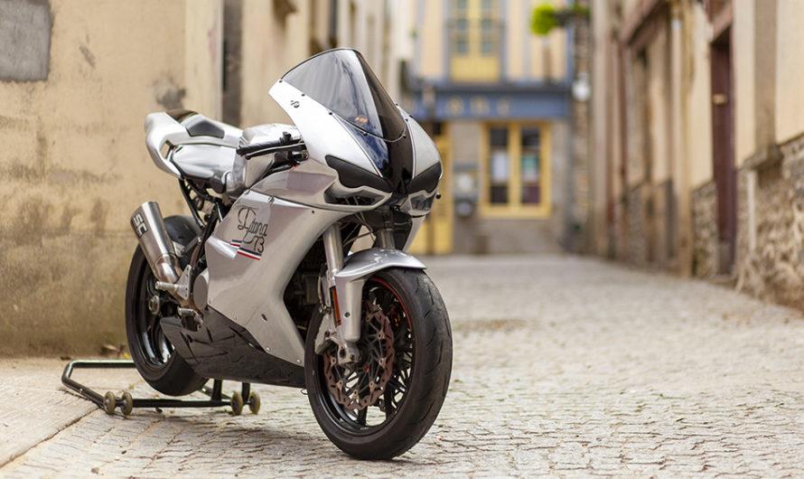 Une Ducati 999 qui ne craint pas les rayures ! 🔐