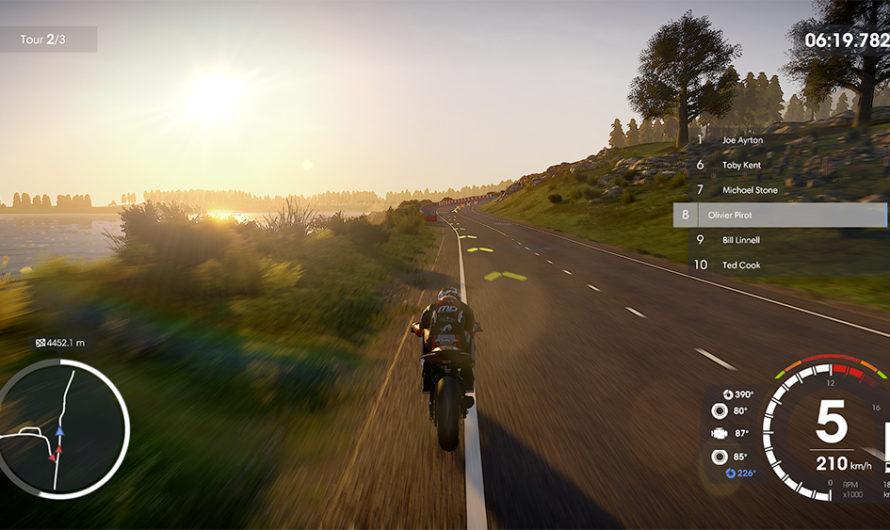 Test jeux vidéo MotoGP20 face à TT Isle of Man 2 🔐