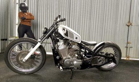 600 Shadow Little Bobber By Seb Kustom Motorcycle