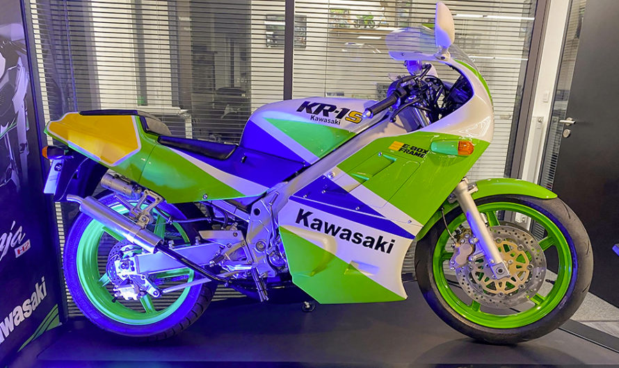 Une Kawasaki KR-1S entièrement restaurée ! 🔐