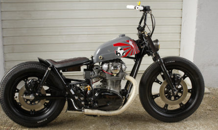 La Yamaha 650 XS devenue Bobber