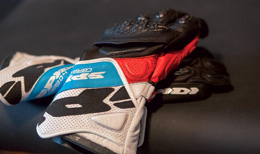 Carbo 4, les nouveaux gants sport de chez Spidi