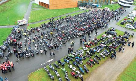 Les motards s'unissent pour le Téléthon et pour les enfants !
