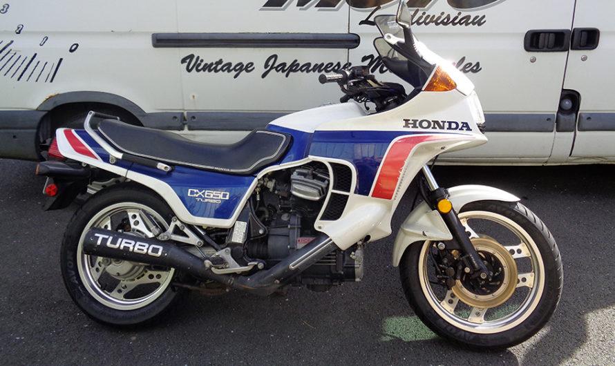 Une Honda CX 650 Turbo chez Performances Moto ! 🔐