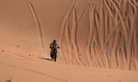 Willy Blanchard, le Dakar en ligne de mire...