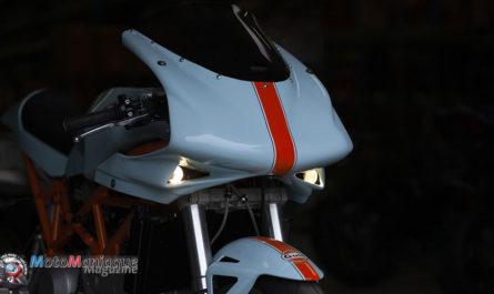 Magnifique DucatiST2 «Cafe Racer»
