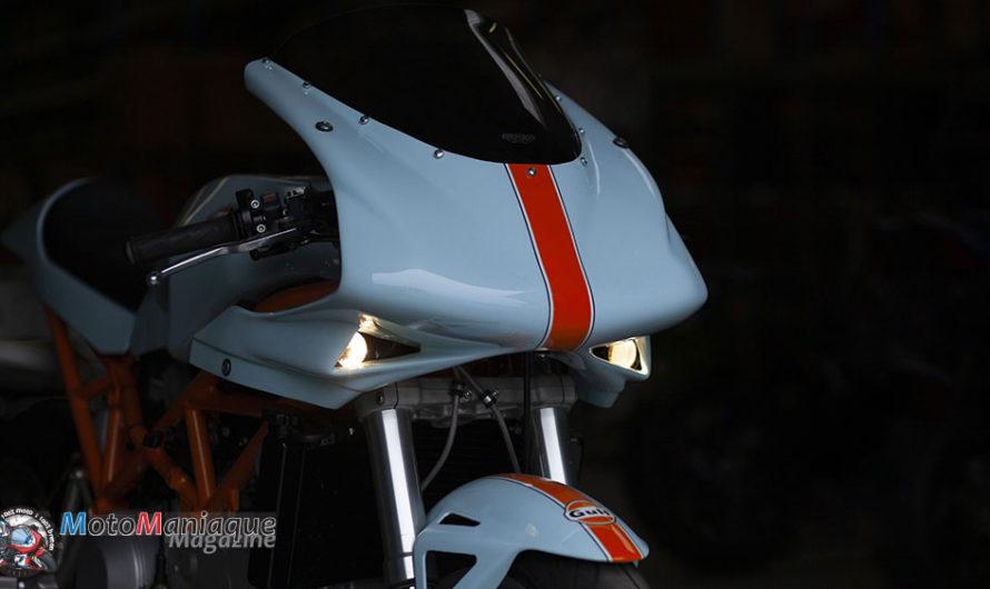 Magnifique DucatiST2 «Cafe Racer» 🔐