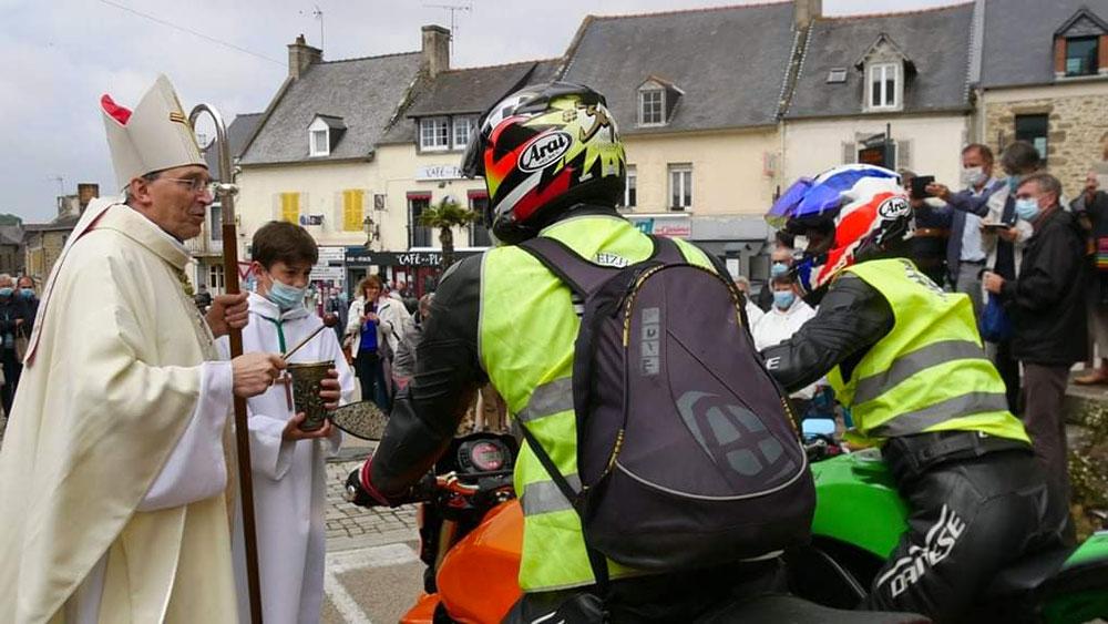 Pardon des motards à Saint-Coulomb !