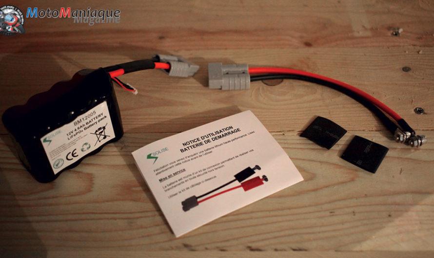 Les batteries Solise : légères, durables et sans entretien