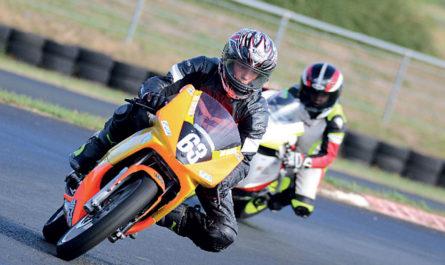 Axel Cabon en championnat de France 25 Power
