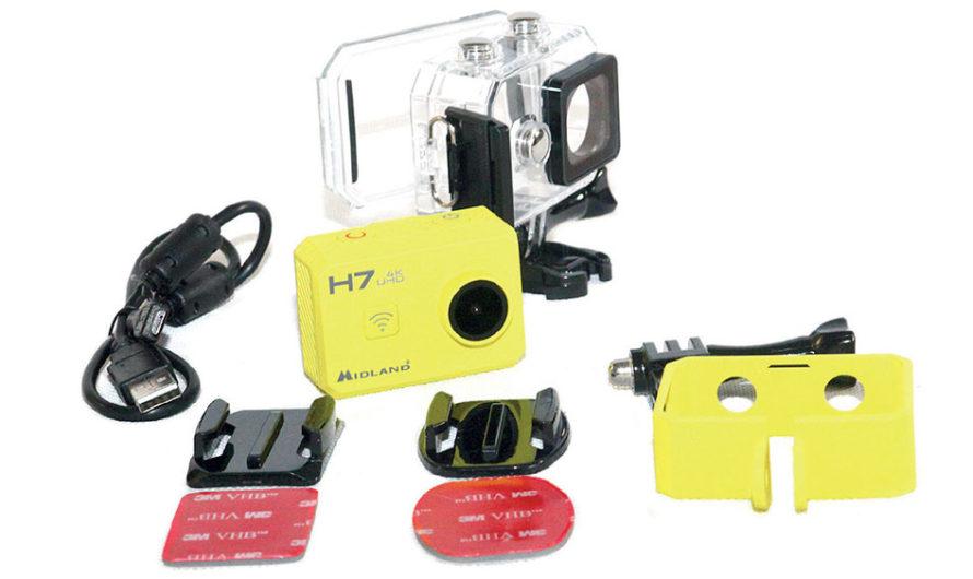Test de la caméra «sport» Midland H7
