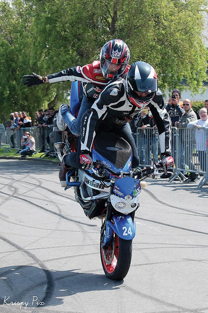Du stunt à tout âge avec le Fast riders stunt