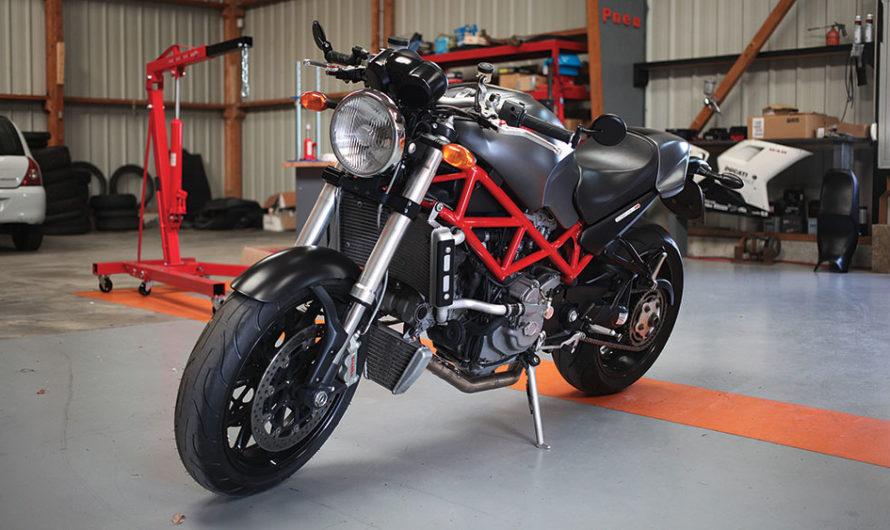 Monster S4R par Méca Moto Service !