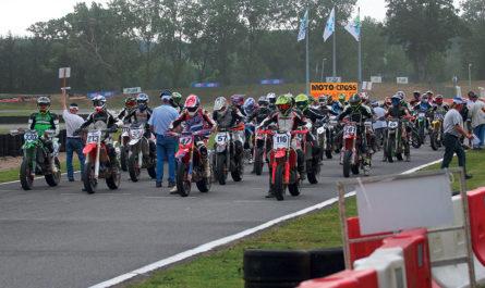 Championnat de France Supermotard à Lohéac