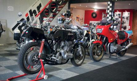 Une bonne adresse pour les passionnés de motos anciennes
